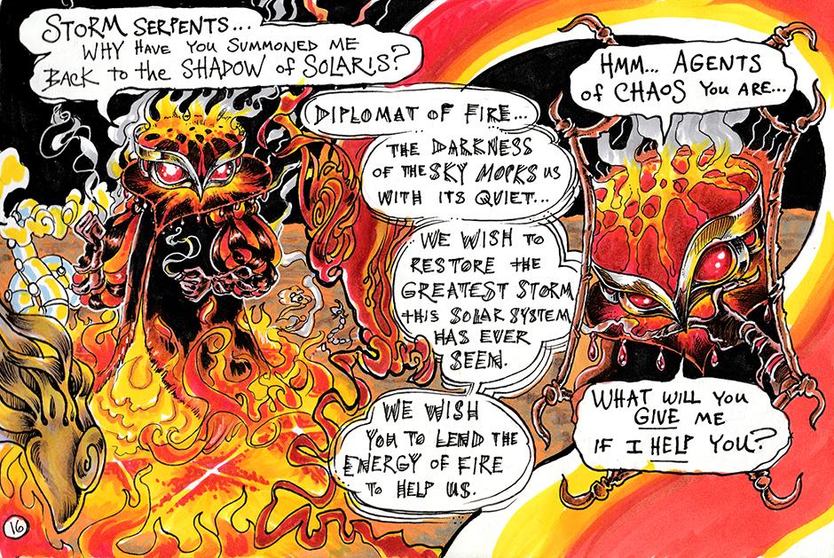 Diplomat of Fire